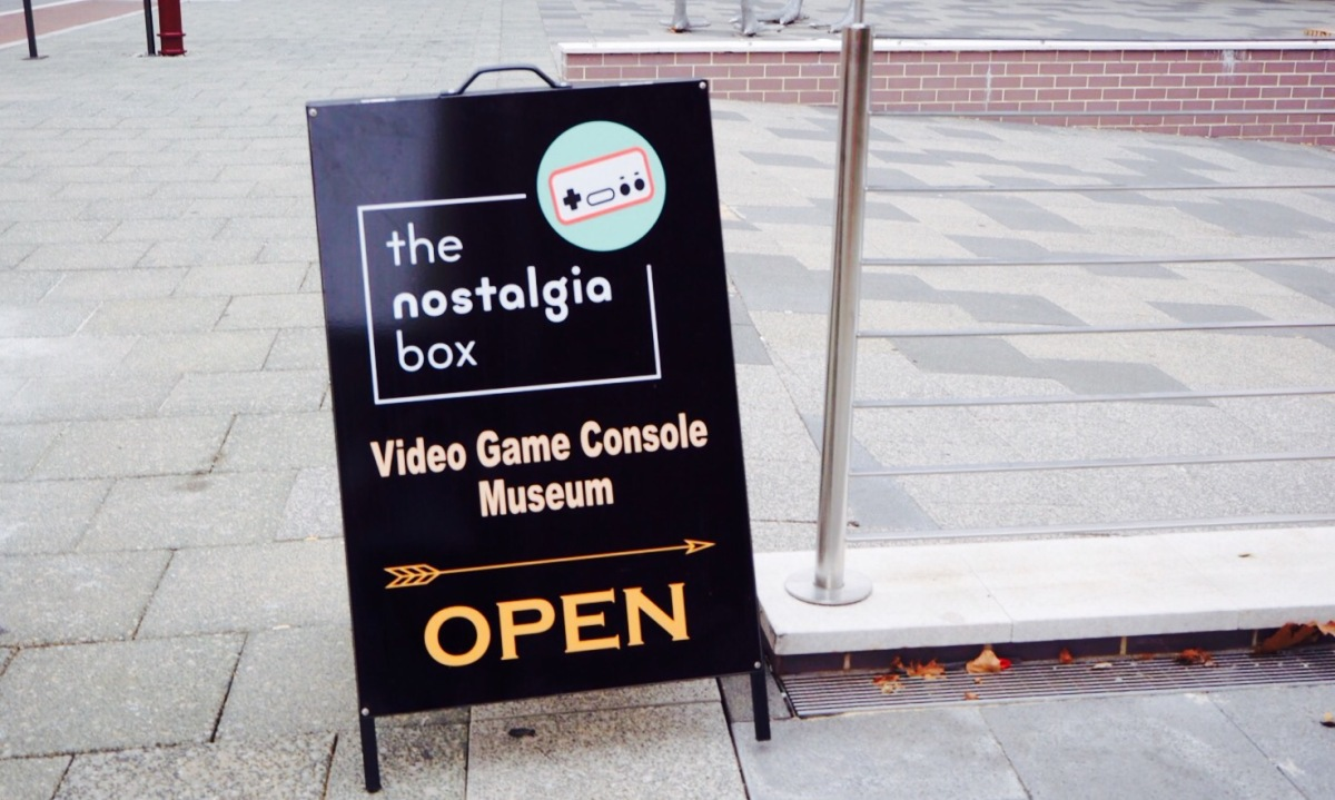 Perth Picks | The Nostalgia Box, Northbridge