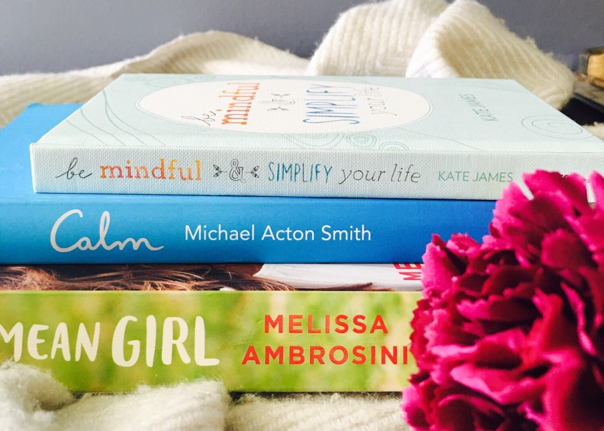 Three self help books to clear your mind and make you think!